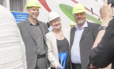 Экс-президент Финляндии Халонен окрестила новое скоростное судно компании Tallink