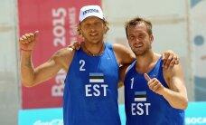 Meeste rannavõrkpallikoondise olümpialootus püsib!