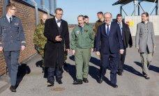 Ильвес на авиабазе Эмари: воздушная охрана стран Балтии — важная часть наших союзных отношений в НАТО