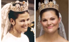 FOTOD: Rootslased nostalgitsevad! Kuninganna ja kroonprintsess nägid pulmas välja nagu kaks tilka vett
