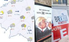 HOMMIKU-UUDISED: Euroopa liidrid nõuavad Suurbritannia kiiret lahkumist EL-ist, alanud nädal tuleb soe ja vihmane