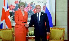 Встреча Мэй и Путина в Китае: надежда на диалог при сохранении разногласий