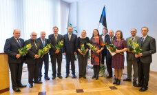 FOTOD: Maaeluminister andis üle ministeeriumi teenetemärgid