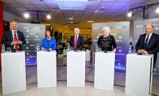 Presidendikandidaadid olid debatis üllatavalt rahumeelsed