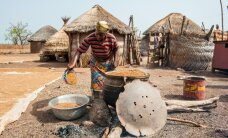 Pildikesi Ghana külanaise päevast