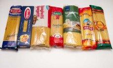 Какие спагетти в эстонских магазинах больше всего напоминают настоящую итальянскую пасту?