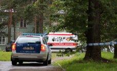 ФОТО: При взрыве в подвале многоквартирного дома в Мяннику погиб пожилой мужчина