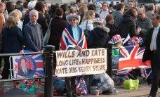 FOTOD: Inimesed on Westminster Abbey juures telkinud juba päevi