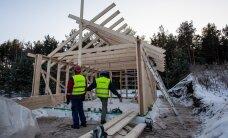 FOTOD: Lottemaa seinad Pärnumaal Tahkurannas juba kerkivad