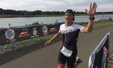Aleksandr Latin võitis heategevusliku triatloni Londonis, Rainer Virve kolmas