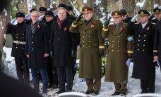 ФОТО: На кладбище Сил обороны почтили память павших в Освободительной войне