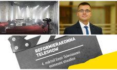 Reformierakond peab oma suure kevadpeo ETV stuudiotes