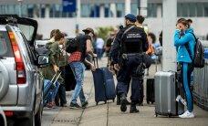 Golfi EM-ist loobuma pidanud šotlased polnud ainsad, kes pagasist ilma jäid: Amsterdami lennujaamas ootas Tallinnasse saatmist üle 60 kohvri
