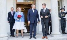 Taavi Rõivas esitles Kadriorus uusi ministreid