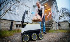 FOTOD: Tallinnas algas robotitega toidu kojuveo testimine
