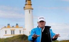 Briti ülemkohus lükkas tagasi taotluse peatada Donald Trumpi golfiraja vaadet rikkuva tuulepargi ehitamine