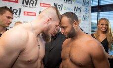 FOTOD: NR.1 Fight Show võitlejad astusid kaalule