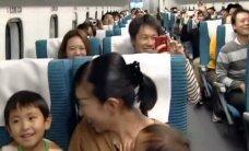 VIDEO: Vaata, kuidas näeb välja rongisõit kiirusega 500 km/h