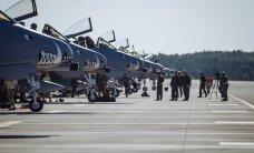 FOTOD: Hambuline linnuparv - Ämaris maandusid USA ründelennukid A-10