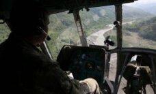 Suurbritannias kukkus helikopter alla