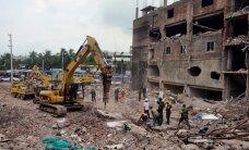 Bangladeshi kokku varisenud hoone rusudest leiti elus naine – oli lõksus üle kahe nädala