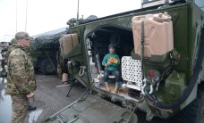 FOTOD: USA sõdurid põikasid enne Saber Strike'i Sillamäelt läbi