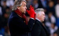 Inter vallandas peatreener Roberto Mancini