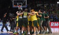 VIDEO ja FOTOD: Leedu võitis ülipõnevas poolfinaalis Serbiat ja mängib kullale!