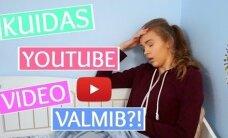 VIDEO: Piilu YouTuberite klippide telgitagustesse! Populaarne YouTuber Maria Rannaväli näitab, kuidas valmib üks YouTube'i video