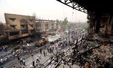 ВИДЕО: В Багдаде толпа набросилась на кортеж премьер-министра