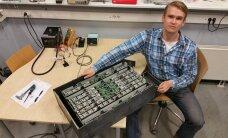 Ühe noormehe inspireeriv lugu: tehnoloogiastipendiumi toel vormelit arendama