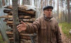 Pensionärid asusid oma metsa eest barrikaadidele