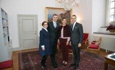 ФОТО: Таави Рыйвас и Луиза Вярк встретились с кронпринцессой Швеции
