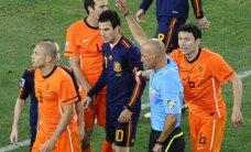 FIFA trahvis MM-i finaliste Hispaaniat ja Hollandit