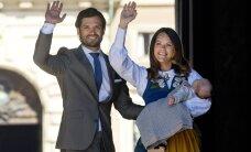 FOTOD: Rahvamass ei sega lõunaund! Rootsi uue printsi esimene avalik etteaste möödus kui õnnis unenägu
