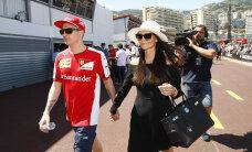 FOTO: Pulmaootuses vormeliässa Kimi Räikköneni väljavalitu proovis pruutkleiti