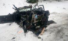 ФОТО: Тяжкое ДТП в Ида-Вирумаа: один человек погиб, пятеро пострадали