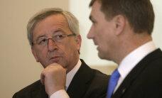 Juncker tegi Ansipile ja Oettingerile karmi peapesu ning käskis neil tähtsa algatuse ümber teha