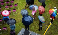Несмотря на дождь второй день Фестиваля мнений пошел успешно