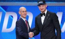 NBA drafti avaringis valiti 9 eurooplast, Sabonise poja võttis absoluutne tippklubi