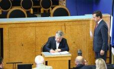 FOTOD | Siim-Valmar Kiisler andis riigikogus ametivande