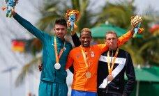VIDEO: KARM! Paraolümpial kukkusid rattasõidu kaks liidrit vaid mõni meeter enne finišit ning jäid kullast ilma