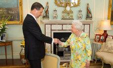 Президент Вейонис пригласил королеву Елизавету II в 2018 году посетить Латвию