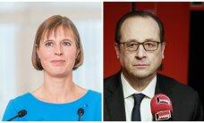 President Kaljulaid kohtumisel Hollande'iga: me loome üheskoos turvalisust