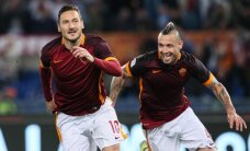 VIDEO: Tõeline legend! 39-aastane Totti tuli 86. minutil väljakule ja tüüris Roma 1:2 kaotusseisust 3:2 võiduni!