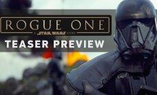 "VIDEO: ""Star Wars: Rogue One'i"" treiler saabub homme, vaata õrritajat treilerile"