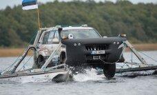 Eesti inseneri ümbermaailmareis amfiibautoga katkes ilmselt lõplikult