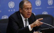 Лавров назвал неприличным обсуждение санкций против России