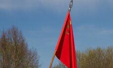 В Вильнюсе поступило два сообщения о вывешенных советских флагах