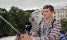 DELFI VIDEO: Rally Estonia kaubandus- ja fänniala vingeim atraktsioon on selfie-tõstuk